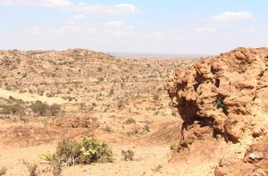 Somaliland countryside, Laas Geel