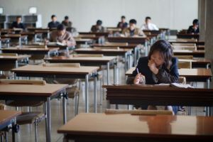 Students of the North Korean language.