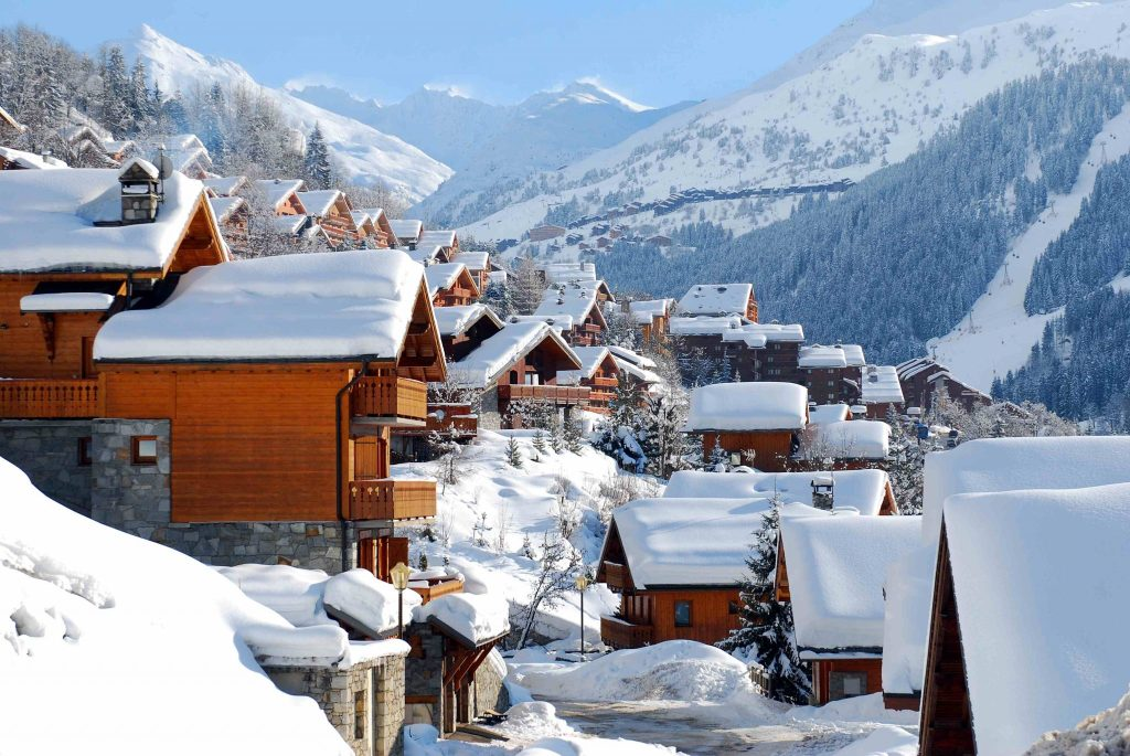 Meribel is one of the best places to visit in France.
