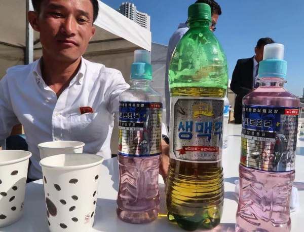 Potato Soda that is made in DPRK