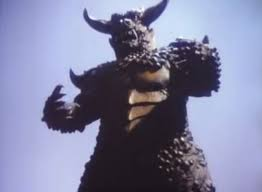 The Pulgasari monster from the North Korean movie 'Pulgasari'.
