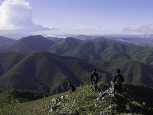 Stunning beauty of the mountains surrounding Hyesan