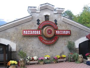 Massandra winery, famous for its Crimean wine.