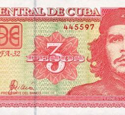 Cuban 3$ peso