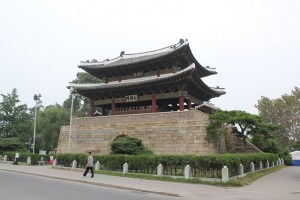 Taedongmun -- part of the former Pyongyang Castle -- in Pyongyang, North Korea