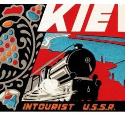 Intourist Kiev poster