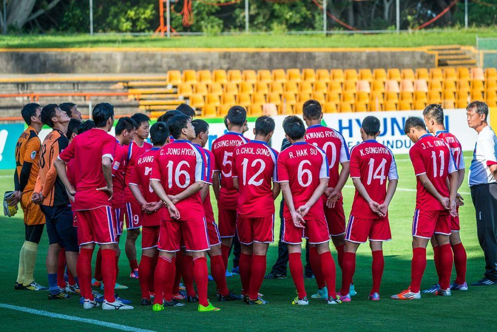 World Cup 2022 - North Korean football team
