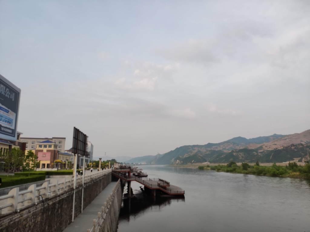 Tumen river between Yanbian and North Korea