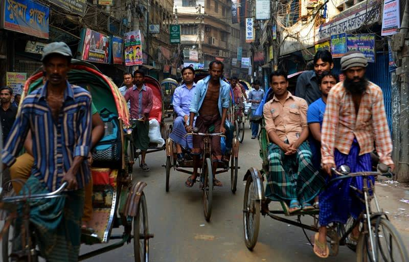 The hectic beat of Dhaka