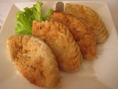 Khuushuur: another fine example of the use of mutton in Mongolian cuisine.