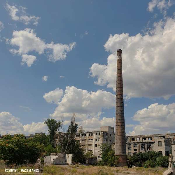 An abandonned factory in Odessa