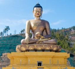 Doderma buddha statue in Bhutan