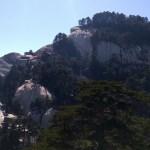 A view of Huashan