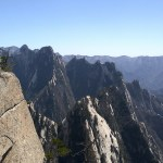 The rugged landscape of Mount Hua