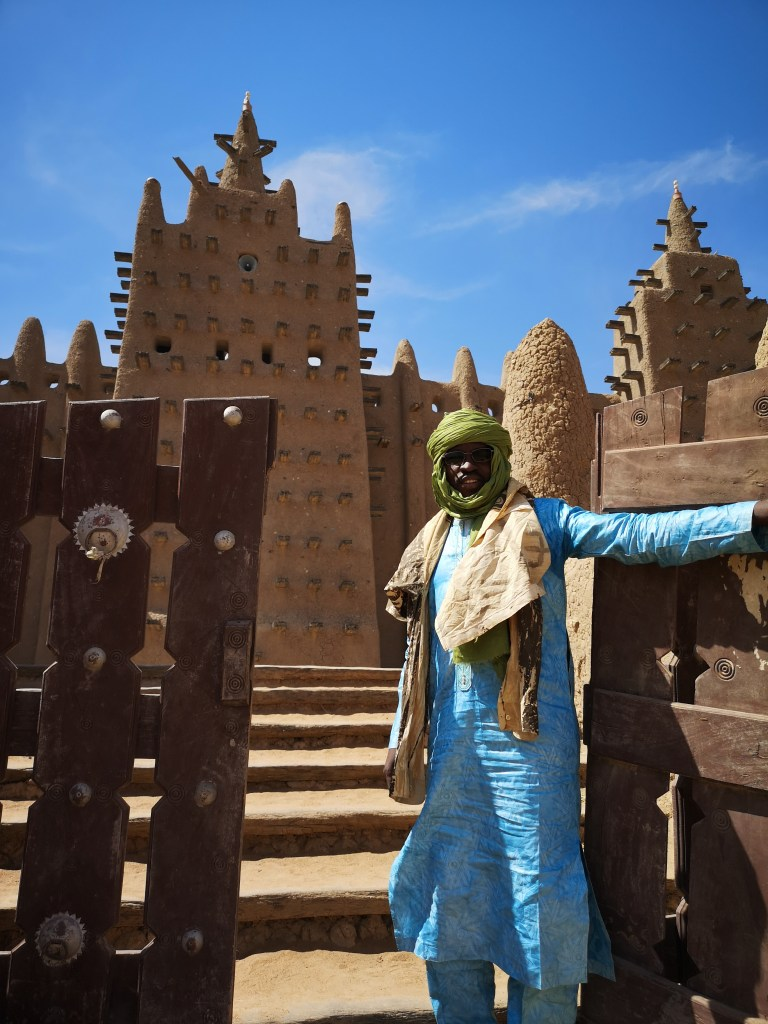 The central mosque of Djenné, in Mali
