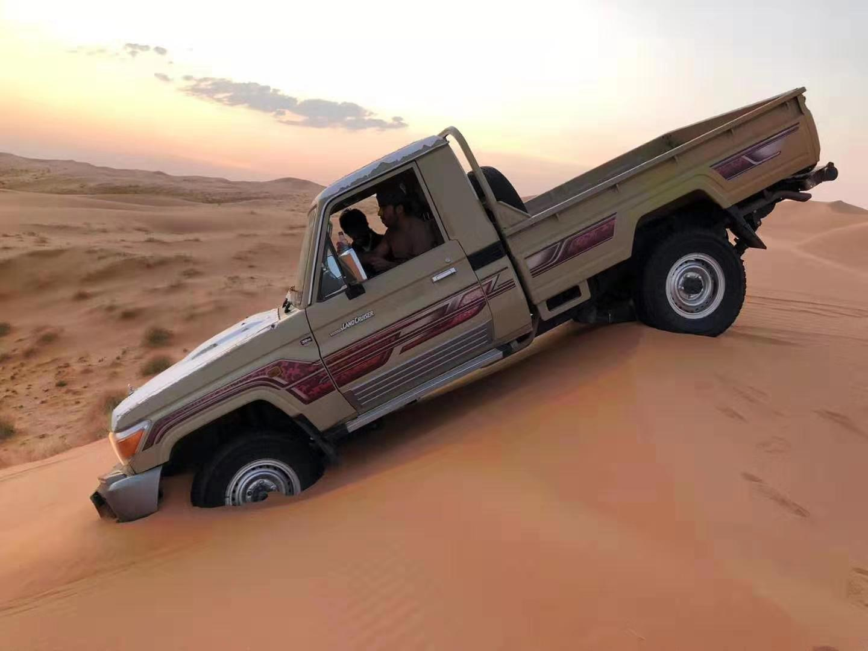 Dune bashing in Qassim Saudi Arabia