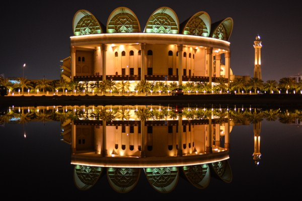 The biggest mosque in the world in Manama, Bahrain