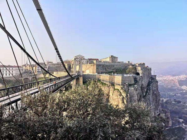 The bridges linking Constantine in Algeria
