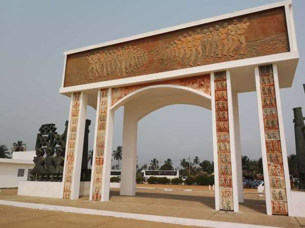 The door of no-return on the slave trail of Benin