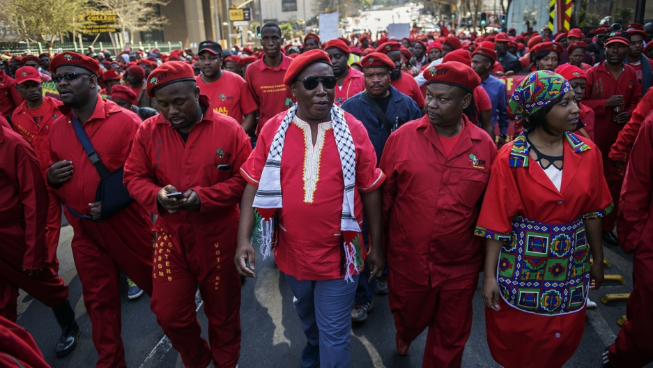 Members of the EFF, what is a communist party.