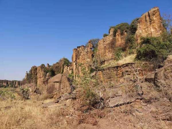 scenery of Dafra rockscape