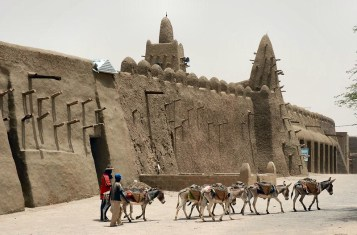 The ancient city of Timbuktu