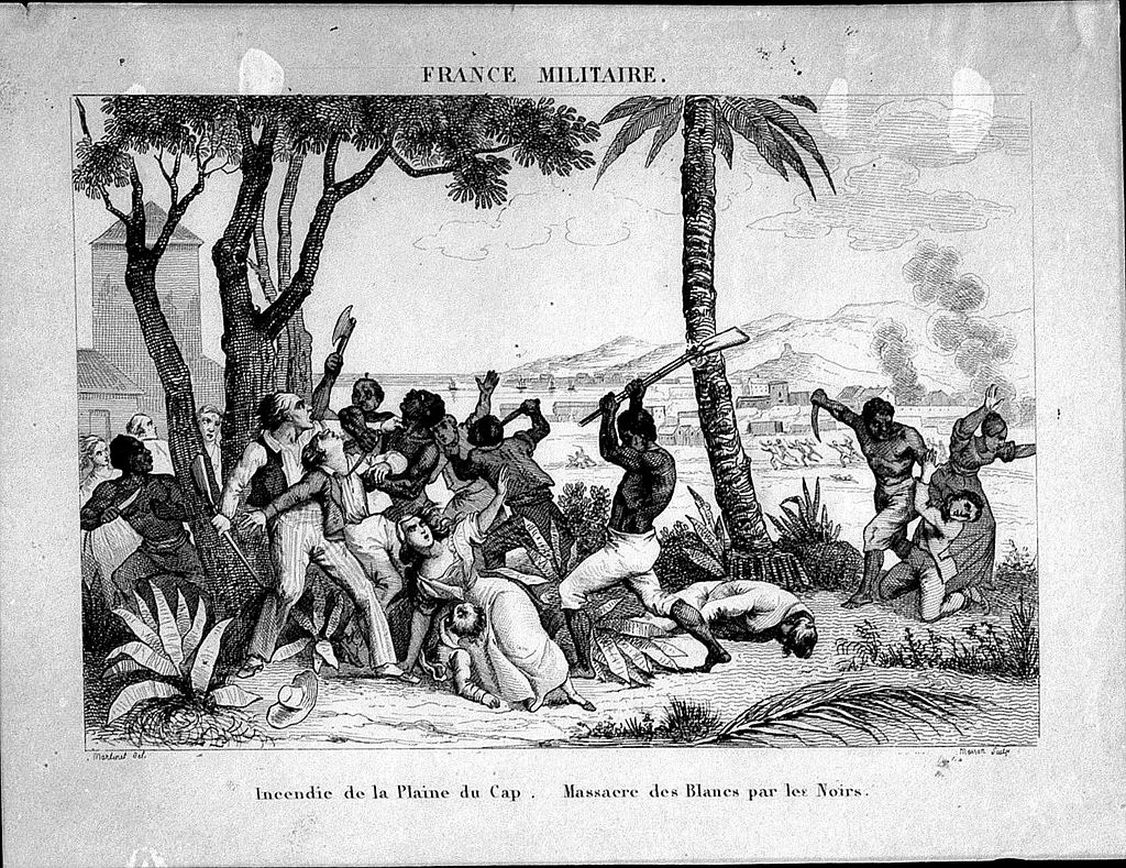 1791 slave rebellion at the start of the Haitian revolution.