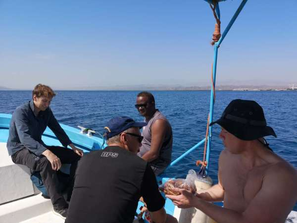 Visiting the Dahlac Archipelago as part of a tour of Eritrea 2020