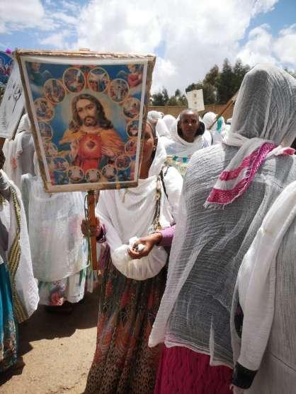 A religious festival in Eritrea