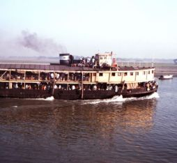 A paddle steamer of Bangladesh
