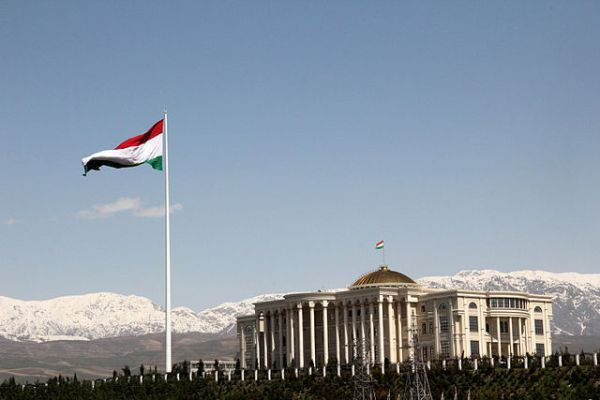 The flagpole in Dushanbe, Tajikistan, the world's second tallest.