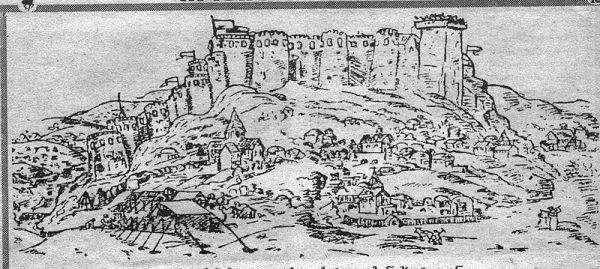 The fortress of Gori in Georgia