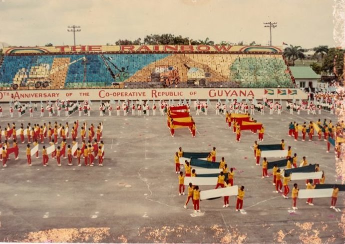 20th anniversary Guyana mass games