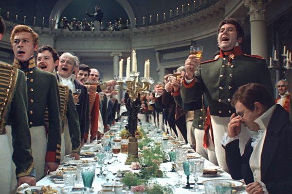 Screenshot from the Soviet movie War & Peace