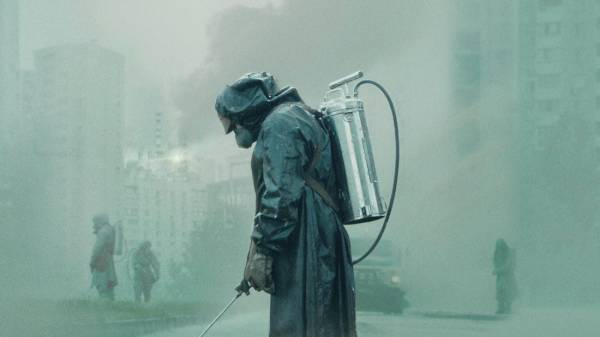 Screenshot from the TV series Chernobyl