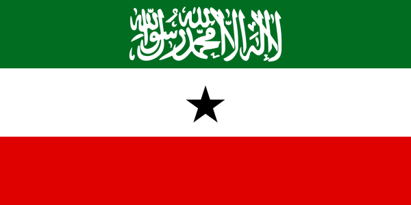 The flag of Somaliland