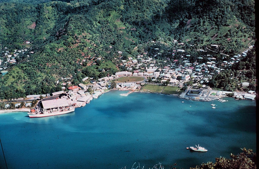 Pago pago, the capital of American Samoa