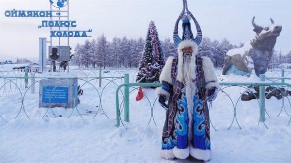 A festival takes place in Omyakon, in Yakutia or the Sakha Republic