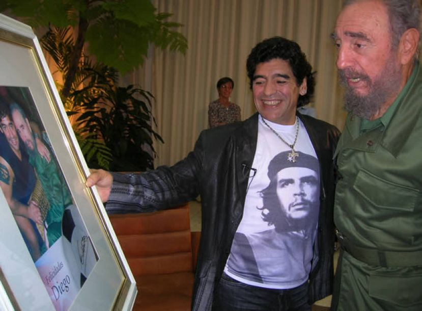 Fidel Castro and Diego Maradona: the Strangest Father-Son Relationship |  Young Pioneer Tours
