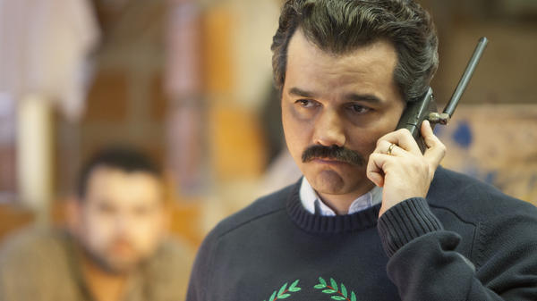 Screenshot from the TV series Narcos