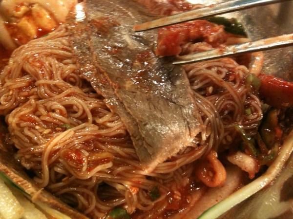 Hamhung Cold noodles of Hamhung Naengmyon