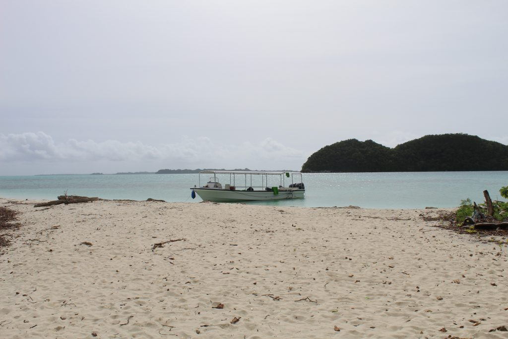 Travelling to Palau certainly involves some beaches