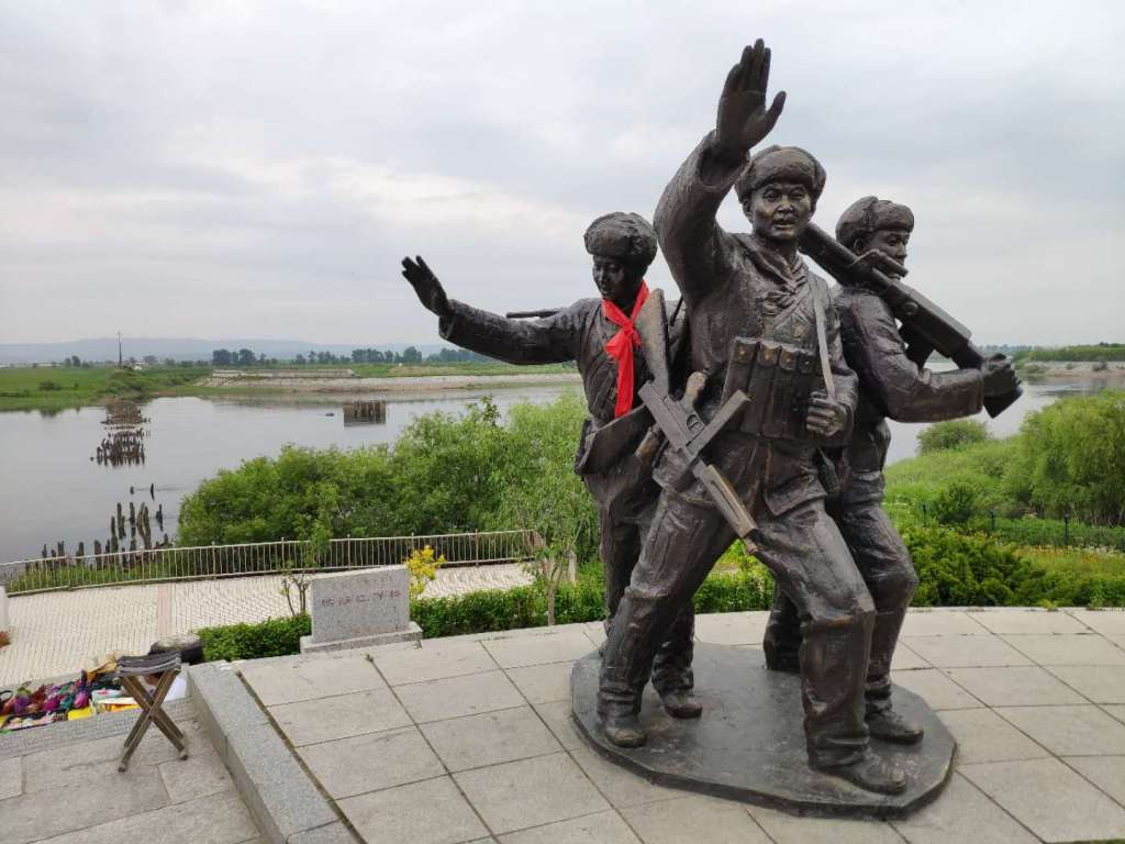 volunteer soliders Dandong