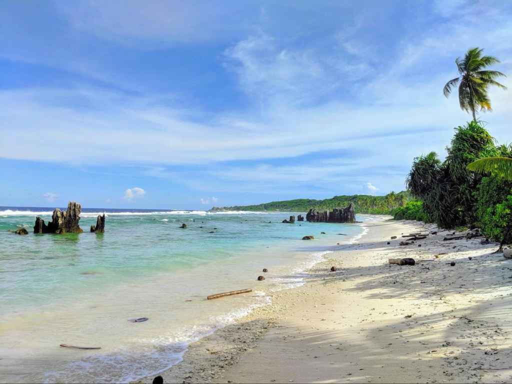 Nauru least visited