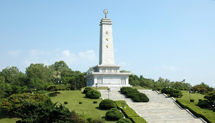Sino-Korean friendship tower