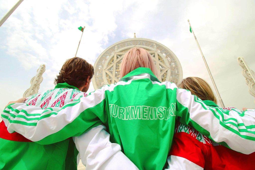 Turkmenistan track suit