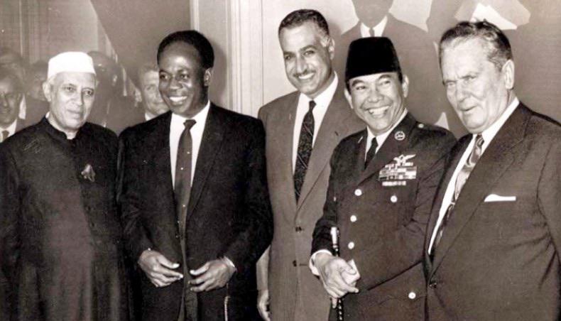 Nasser at the Bandung Conference