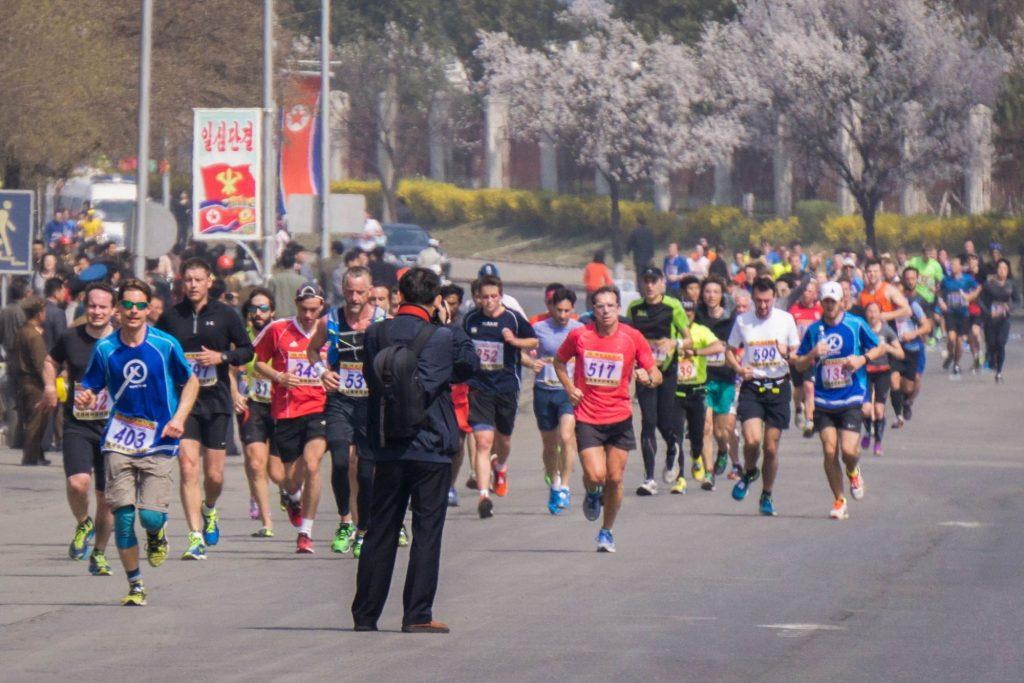 Pyongyang Marathon FAQ street