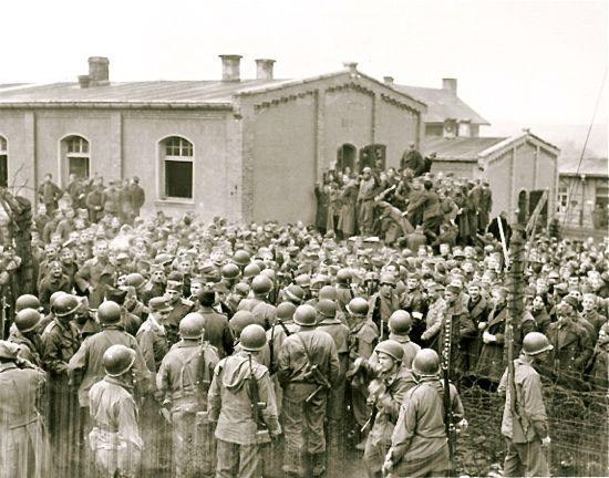 Liberation of Stalag XIII-A