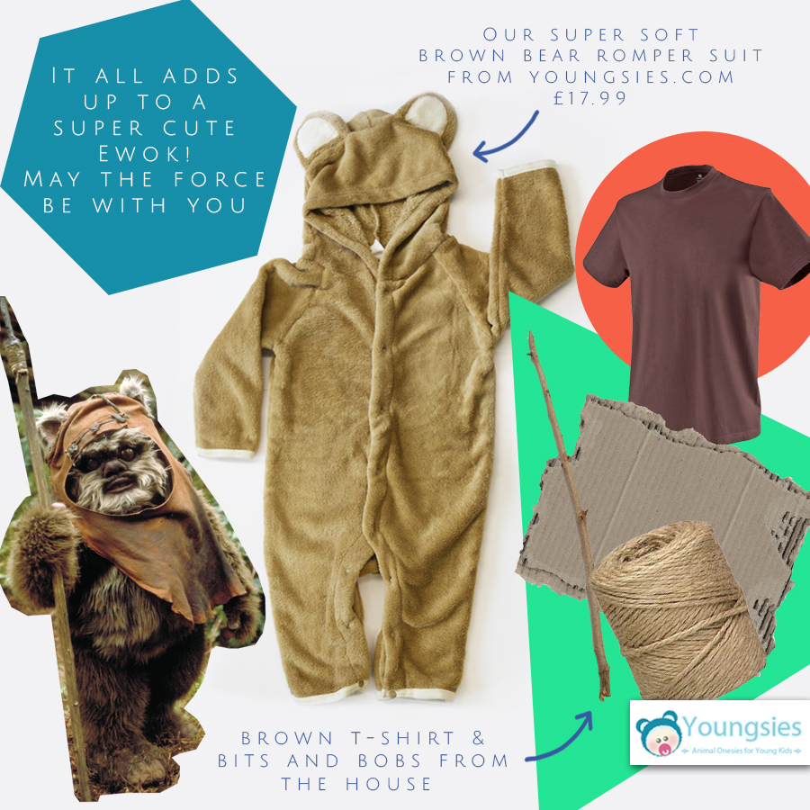 Ewok halloween costume DIY